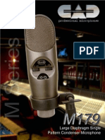 CAD M179 Microphone Manual