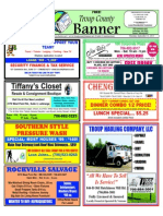 Troup County Banner - September Issue