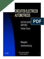 Circuitos eléctricos automotrices