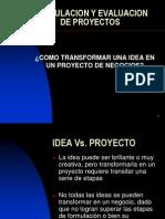 Curso Formulacion y Evaluacion de Proyectos Clase 3