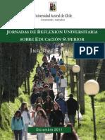 Jornadas de Reflexion Universitaria 2011
