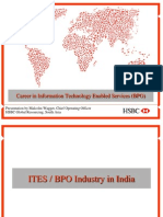 Career in Information Technology Enabled Services (BPO)