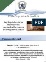 Presentación Notificaciones Electronicas PRONACOM