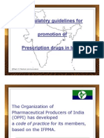 Guidelines for prescription drug marketing in India-OPPI