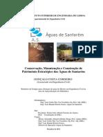 Dissertação Conservação, Manutenção e Construção de Património AS-ISEL
