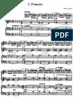 rachmaninov romance four hands