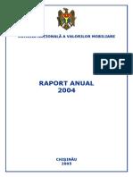 Raport 2004 piata valorilor imobiliare