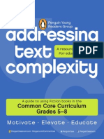 Addressing Text Complexity