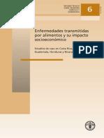 Enfermedades Transmitidas Por Alimentos y Su Impacto Socio Economico