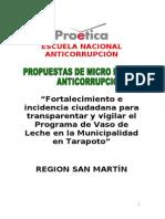 Proyecto Anticorrupcion San Martin