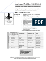 Goochland Cotillion Info 2013-2014