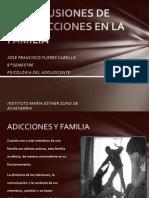 Repercusiones de Las Adicciones en La Familia