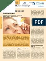 Medical Management Glaucoma