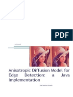 Anisostropic diffusion java implementation