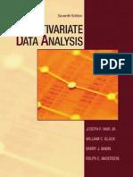 Joseph F. Hair, William C. Black, Barry J. Babin, Rolph E. Anderson Multivariate Data Analysis 7th Edition 2009