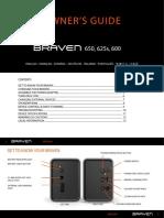 Manual Braven 600