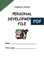 Personal Development Profile