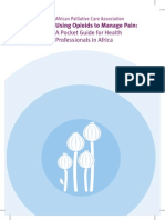 APCA Using Opioids to Manage Pain a Pocket Guide for Health Professionals in Africa (2010)
