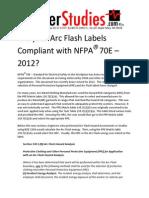 Are_Your_AF_Labels_CompliantNFPA 70E 2012.pdf