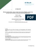 Brieve instruction pour armer tous bons fideles contre les erreurs de la secte c.pdf