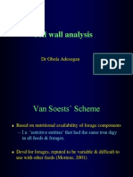 cell wall analysist
