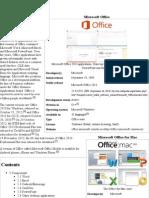 Microsoft Office - Wikipedia, The Free Encyclopedia1