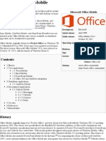 Microsoft Office Mobile - Wikipedia, The Free Encyclopedia