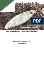 Revista Eletrônica Bragantina On Line - Setembro/2013