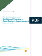 Avc Explanatory Booklet
