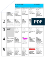2013-2014 planning calendar template 90 day course