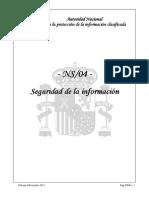 NS-04 Seguridad de La Informacion