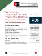 Icono14. Nº 12. ESTUDIANTES Y EDUCADORES - NATIVOS Y NO NATIVOS DIGITALES