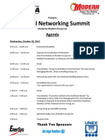 MHEDA Regional Networking Summit - October 2013