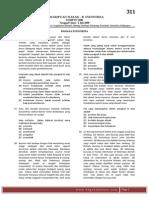 Snmptn 2008 Kemampuan Dasar b Indonesia Kode Soal 311