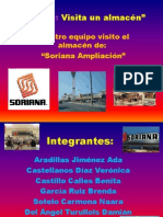 Imágenes del almacén de Soriana Ampliación