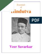Essentials of Hindutva  (Veer Savarkar)
