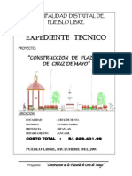 Exp. Plaza Cruz de Mayo
