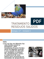 Tratamento de Resíduos Sólidos