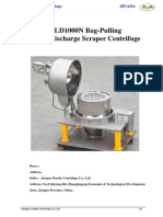 PQLD1000N Centrifuge Technical Parameters