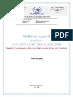 Algebre 1 (annales)