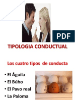 5.- Tipología  conductual