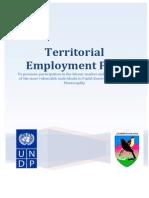 Territorial Employment Pact in Fushë Kosovë/Kosovo Polje Municipality