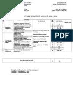 Planificare Anuala COMUNICARE CU PUBLICUL Clasa a XII A