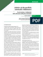 FIBRADIS in Prevenzione e Trattamento Delle Alterazioni Della Flora ale