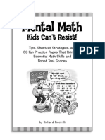 Mental Math Kids Can't Resist