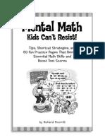 Mental Math Kids Can't Resist