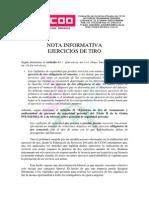 Ejercicios de Tiro (1)