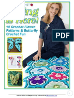 10 Crochet Flower Patterns and Butterfly Crochet Fun