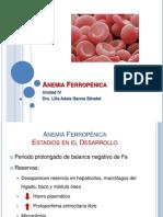 Anemia Ferropénica clase