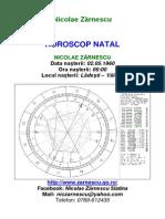 Astrologie - Horoscop Natal
